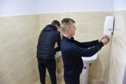Оновлення туалетних кімнат для студентів та викладачів відділення ПТО