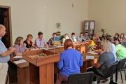 Організаційне засідання з кураторами та класними керівниками навчальних груп