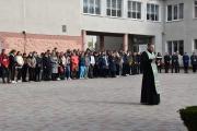 Молебень за захисників та захисниць України